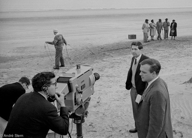 Cameramen On Beach