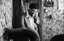 Coal miner Frank Quillen with black lung disease