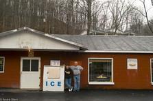 Grocery store in Kona, Kentucky run by McCauley family.