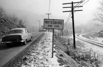 Entering Whitesburg Kentucky