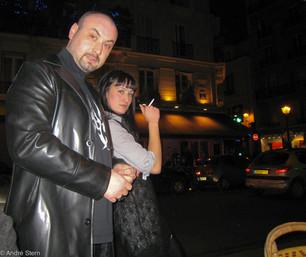 Paris Café owners taking a break