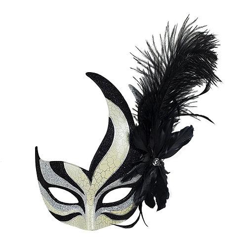 Masqarae Feather Bird Eye Mask - Bs