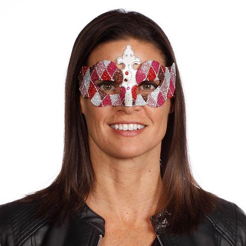 Masqarae Harlequin Eye Mask - RD