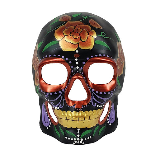 Masqarae Sugar Skull Mask - Flower