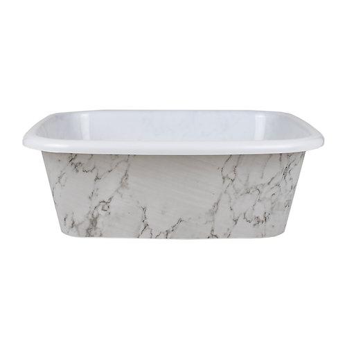 Kolorae Dish Pan Marble