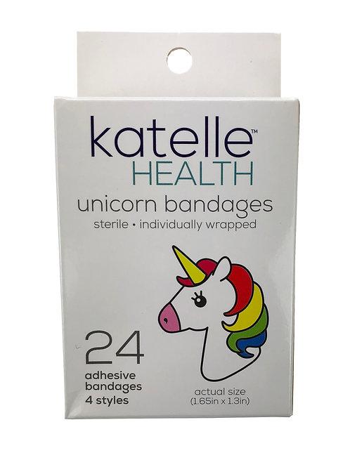 Katelle Unicorn Bandages - 24 Count