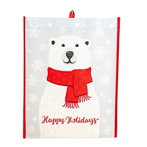 Kolorae Graphic Tote Happy Polar Bear