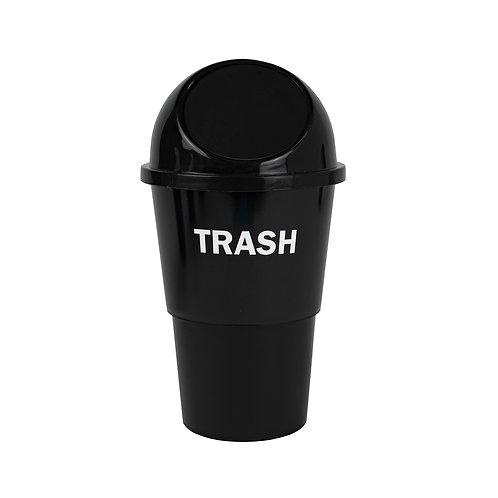 Kolorae Cup Holder Waste Can Trash On Black