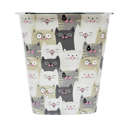 Kolorae Waste Can Cats 2.0