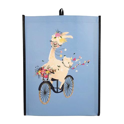 Kolorae Graphic Tote Llama Bike