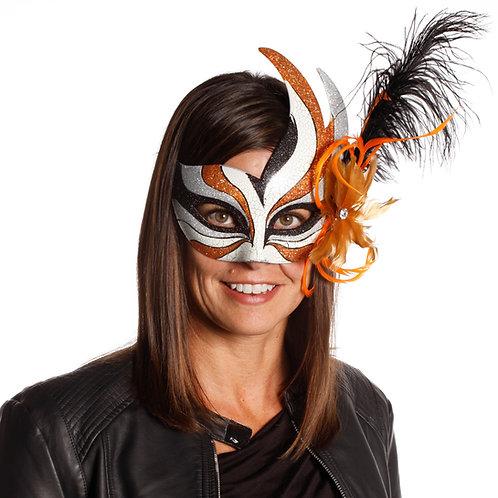 Masqarae Feather Bird Eye Mask - OR