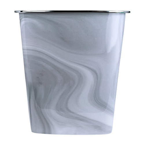 Kolorae Waste Can Gray Marble