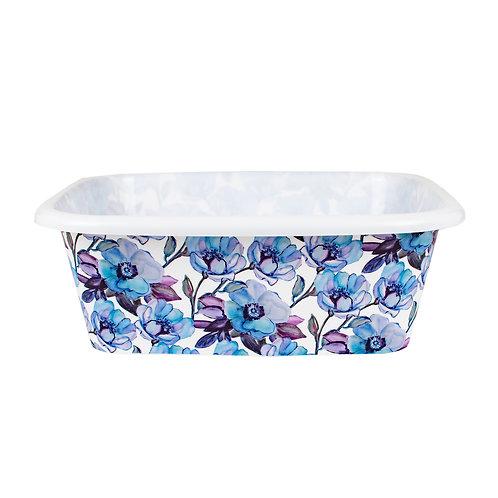Kolorae Dish Pan Blue Floral