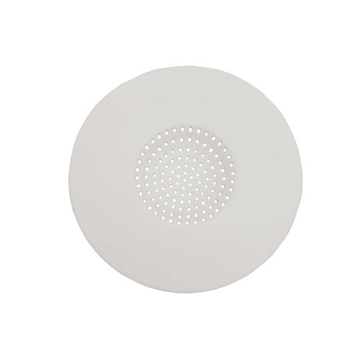 Broxan Silicone Sink and Tub Strainer - White