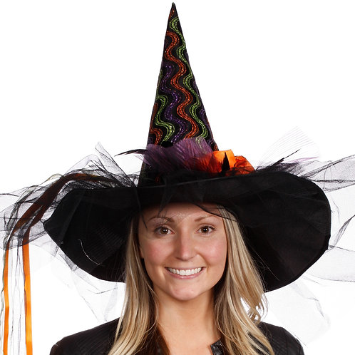 Masqarae Embry Witch Hat - MULTI