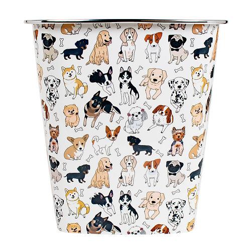 Kolorae Waste Can Dapper Dogs