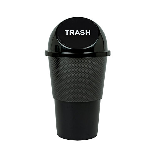 Kolorae Cup Holder Waste Can Black Mesh