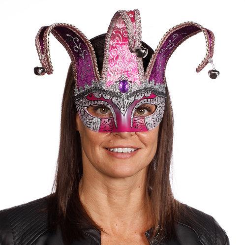 Masqarae Half Jester Eye Mask - PS