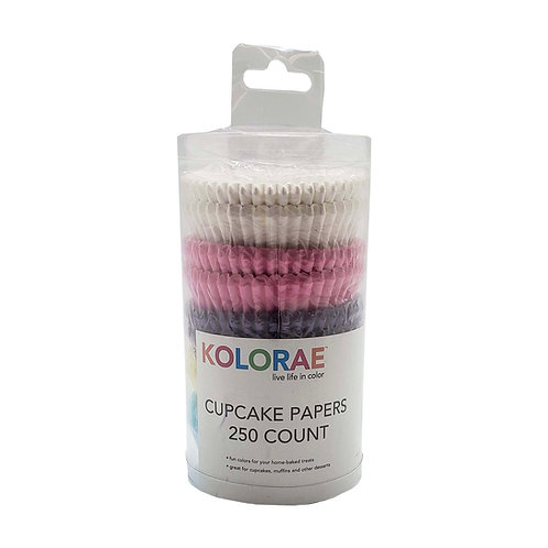 Kolorae Cupcake Papers - 250 count