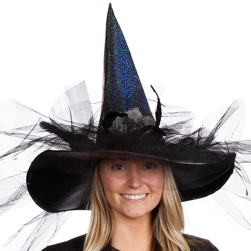 Masqarae Rosalie Witch Hat - SL