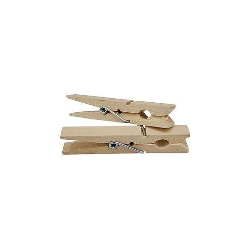 Broxan Wood Clothes Pins - 36PK