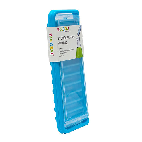 Kolorae Ice Tray 11 Stick Colors with Lid Set of 2