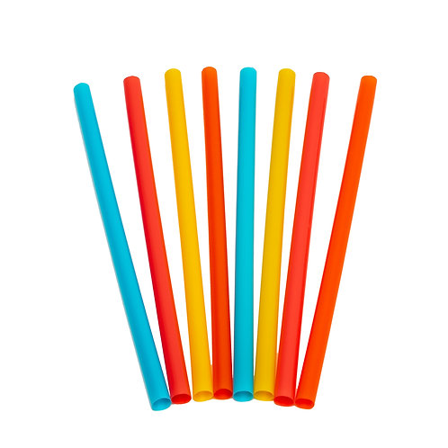 Kolorae Milkshake Straws - 50 Count