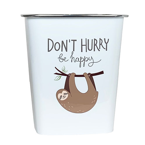 Kolorae Waste Can Don't Hurry Sloth
