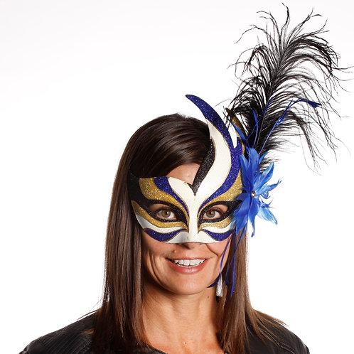 Masqarae Feather Bird Eye Mask - BL