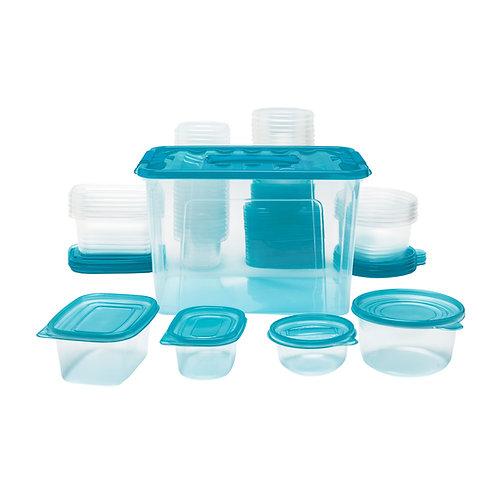 Kolorae Storage Containers - 100 Pc Set