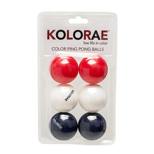 Kolorae Americana Ping Pong Balls