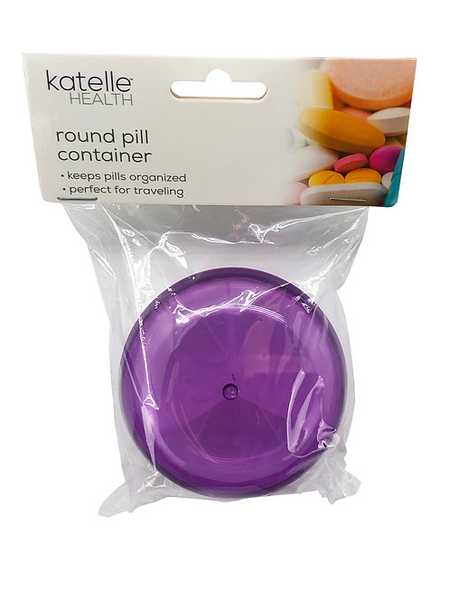 Katelle Round Pill Container
