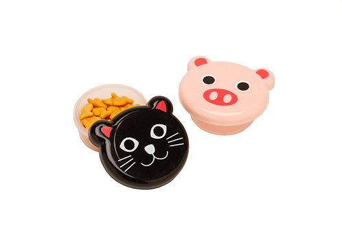 Kolorae Animal Friends Containers- Set of 2