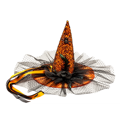 Masqarae Samantha Witch Hat - Or