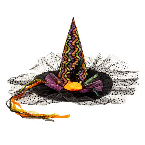 MASQARAE GLINDA WITCH HAT - MULTI