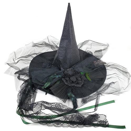 Masqarae Bella Witch Hat - Black