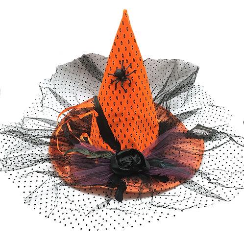 Masqarae Laurent Witch Hat - Orange