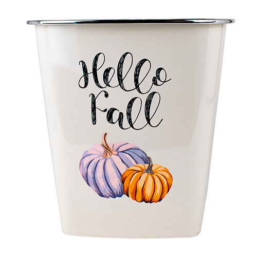 Kolorae Waste Can Hello Fall