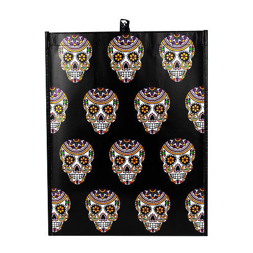 Kolorae Graphic Tote Day of the Dead Skulls