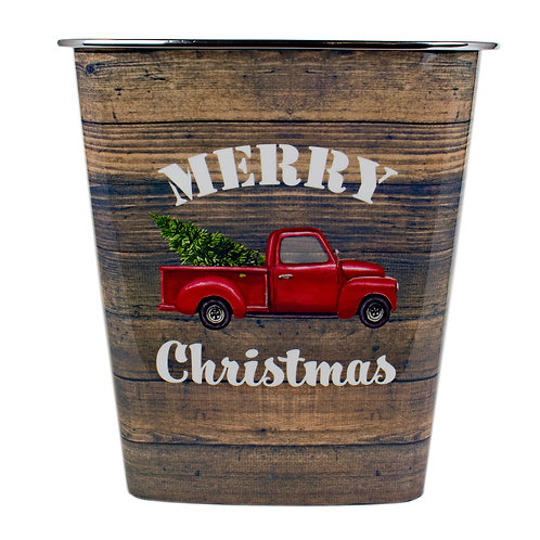 Kolorae Waste Can Christmas Red Truck