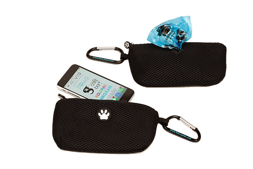 Blue Paws Pet Waste Bag and Phone Pouch