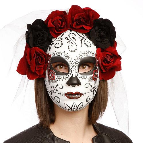 Masqarae Skull Flower Crown - RD