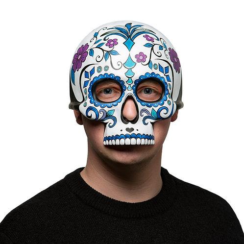 Masqarae Half Skull Mask - SUGAR