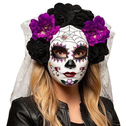 Masqarae Skull Flower Crown - PR