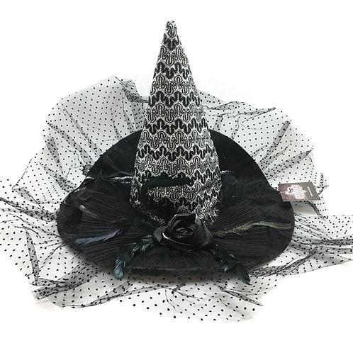 Masqarae Esme Witch Hat - Silver