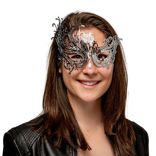 Masqarae Metal Lace Mask - SL
