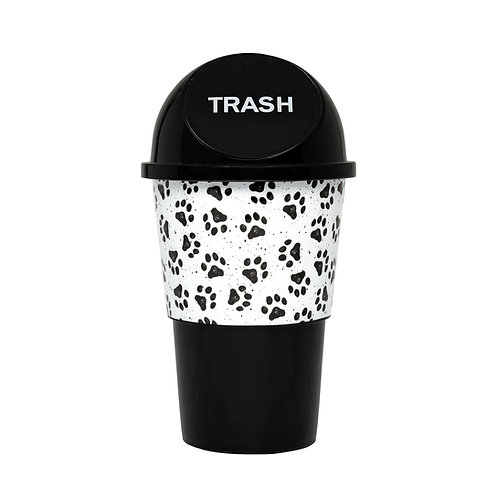 Kolorae Cup Holder Waste Can Tossed Paw