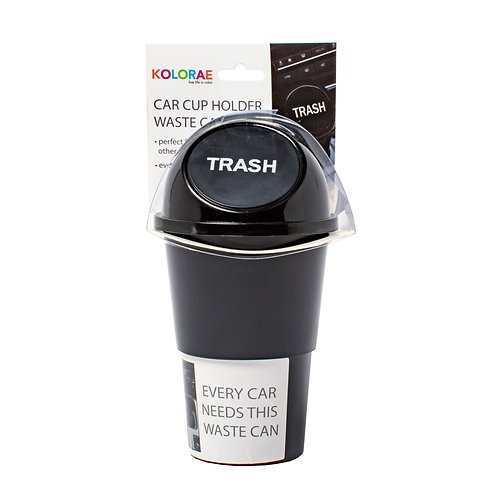 Kolorae Car Cup Holder Waste Can