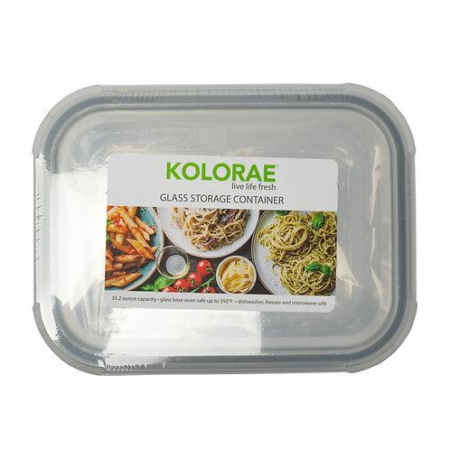 Kolorae Glass Food Storage Rectangle 35.2oz