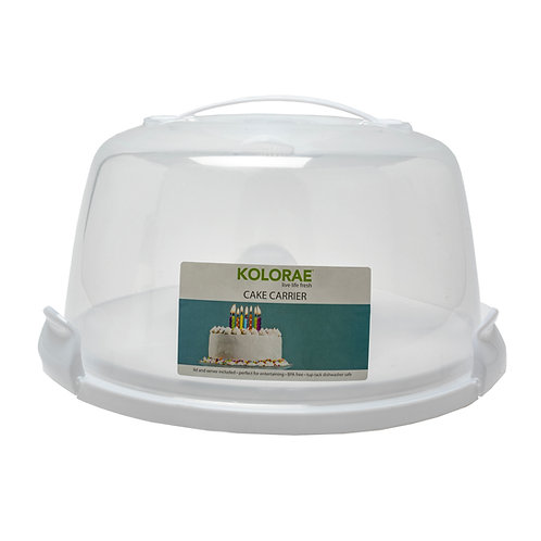 Kolorae Cake Carrier with Lid and Server